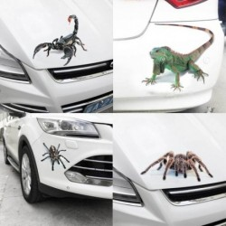2017 3D autós matrica skorpió pók