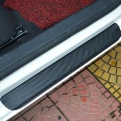 4db / Set 3D autós ajtó pedál hátsó lökhárító csomagtartó farokszalagszál-védő matrica