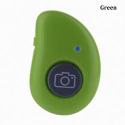 Zöld - Selfie Stick Selfie exponáló gomb Bluetooth zárkioldó távvezérlő