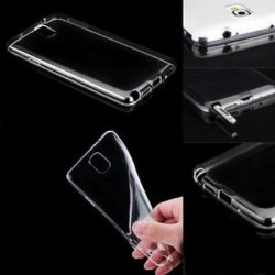 Ultra vékony, átlátszó, átlátszó TPU tok fedőlapja a Samsung Galaxy telefonhoz