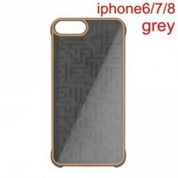 iphone6 7 8 szürke - 1 db interaktív labirintus labirintus játékkapu hátul iPhone 6 6s 7 8 Plus