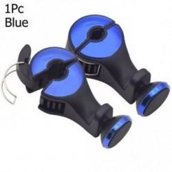 kék - 1 x hátsó üléshuzat fejtámasz tartó tartó mágneses mobiltelefon tábla állvány