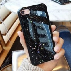 iPhone 6s plus fekete - Star mobiltelefon tok hátul fedezi Glitter IPhone 6 IPhone 6s IPhone 7 Plusz