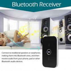 2 az 1-ben vezeték nélküli Bluetooth adó + vevő A2DP sztereó audió Zene Adapter 3,5 mm-es