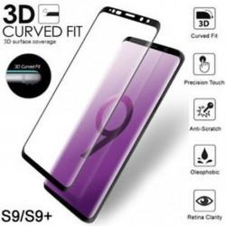 9H 3D íves teljes képernyős védelem Edzett üvegfólia a Samsung Galaxy S9 S9   -hez