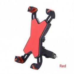 Piros - GPS csúszásgátló állítható kerékpártartó motorkerékpár telefontartó állvány