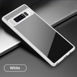 fehér - Anti Scratch Protector TPU telefon tok hátlapja a Samsung Galaxy Note 8-hoz