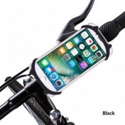 Shockproof Hand Bar Clamp Kerékpár Motorkerékpár GPS állvány Telefon tartó Silicone