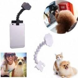 Tablet Pet Selfie Stick rugalmas nyak kutya vegye Photo Cat Képzési Játék