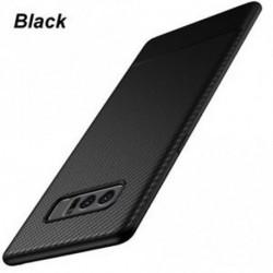 fekete - Telefonos tok szénszálas hátlap Shockproof for Samsung Galaxy Note 8