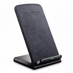 iPhone X - Qi gyors vezeték nélküli töltő iPhone X 8 Samsung S8 töltőállvány hordozható pad dokk