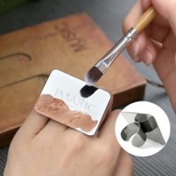 1x IMAGIC köröm smink Kozmetikai festék mix paletta Ring eszköz