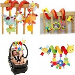 Babajátékok csecsemő babakocsi ágy cot Bölcső Hanging baba csecsemő állati csörgők játék