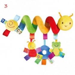 3 - Babajátékok csecsemő babakocsi ágy cot Bölcső Hanging baba csecsemő állati csörgők játék