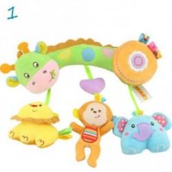 1 - Baby Toys Infant Stroller Lógó játék Cot Crib Mobile Csörgők delfinek Plüss Játékok