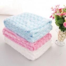 rózsaszín csecsemő puha takaró Újszülött Fotó kellékek baba babakocsi újszülött csomagolás