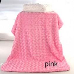 RÓZSASZÍN - rózsaszín csecsemő puha takaró Újszülött Fotó kellékek baba babakocsi újszülött csomagolás