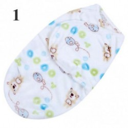 Baby Swaddle Wrap Flannel Meleg takaró Swaddling csecsemő Sleep Sack Sleeping Bag