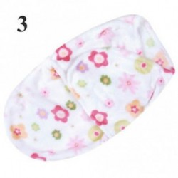 3 - Baby Swaddle Wrap Flannel Meleg takaró Swaddling csecsemő Sleep Sack Sleeping Bag