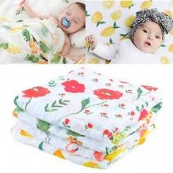 Baba maszti aranyos muszlin takarót Baba Multi-felhasználású bambusz takaró csecsemő wrap