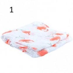 1 - Baba maszti aranyos muszlin takarót Baba Multi-felhasználású bambusz takaró csecsemő wrap