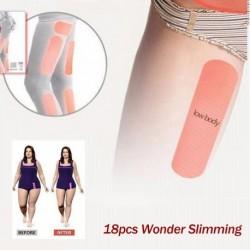 1x 18db tapasz fogyás testsúlycsökkentés egészség szépség lábra