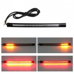 48 LED-es univerzális flexibilis Motorkerékpár fénycsík Tail fék Stop irányjelző