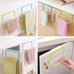 1db több színben választható Metál Ajtó törülközőtartó fürdőszoba konyhaszekrény szekrény függesztő