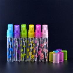 6db 5ml hordozható kis üres üveg Újratölthető parfüm porlasztó pillangó palack spray