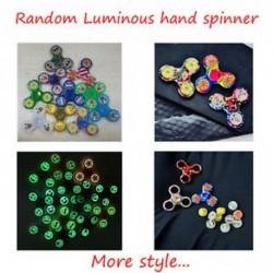 Világító - Emoji Fidget Assorted Hand Tri-Spinner Stressz Relief Manipulatív Játék Játék
