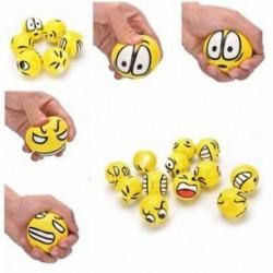12db / lotto játék Emoji Face Expression Squeeze golyók Kézi csukló gyakorlása