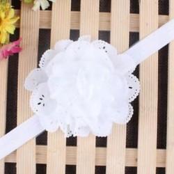 fehér - Head Wrap kisgyermek Virágpántos Baby Hairband Turban Tiara