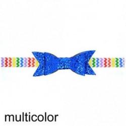 sokszínű - Baba lány Shiny Sequined Hair Band Bowknot fejpánt