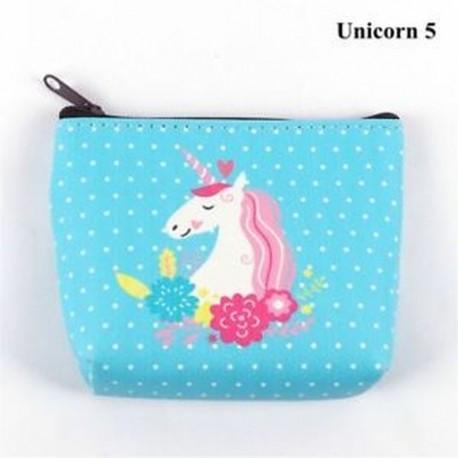 e5b22f21a070 Unicorn 5 - Holder Női táska Flamingo Mini pénztárca Unicorn érme pénztárca  fülhallgató csomag