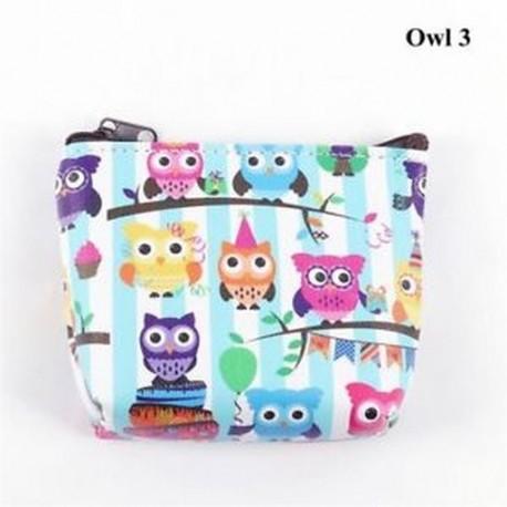 23583553a610 Owl 3 - Holder Női táska Flamingo Mini pénztárca Unicorn érme pénztárca  fülhallgató csomag