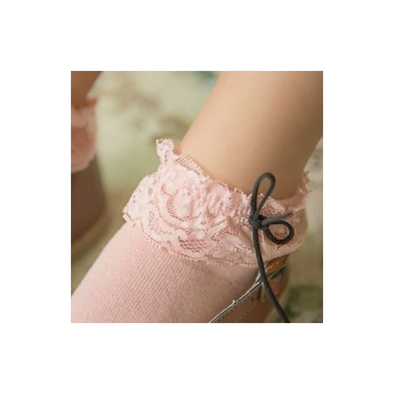 dc361144f6 fehér - Aranyos hercegnő női ruhadarab csipke bowknot pamut boka magas rövid  nadrág harisnya
