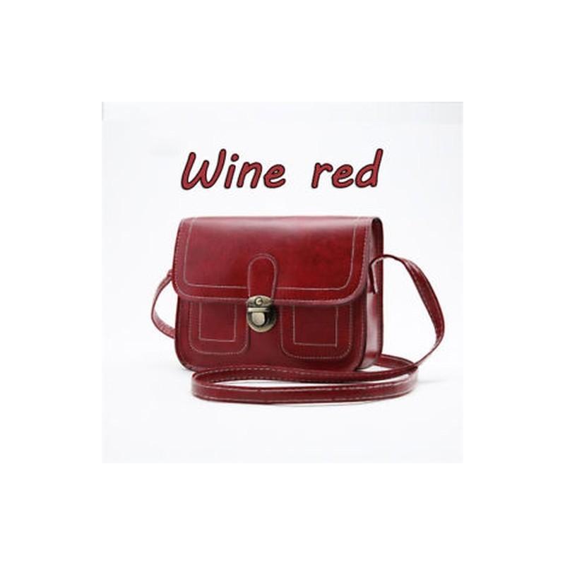 e5dec798e077 Bor vörös - Női bőr válltáska Messenger Bags Szatyrok táska CrossTest táska  táska