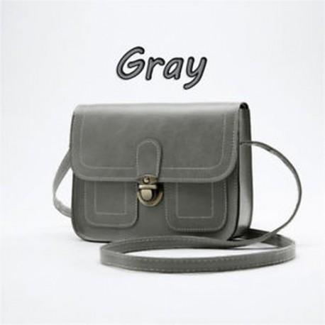 03a662823003 Szürke - Női bőr válltáska Messenger Bags Szatyrok táska CrossTest táska  táska