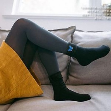 777403e61d Pillangó - Divat Női alkalmi téli meleg zokni csonka pamut puha hó zokni  harisnya