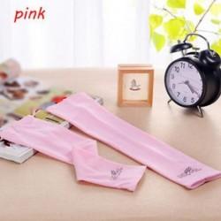 rózsaszín - 1Pair hűtő karú ujjak Cover UV napvédelem Kosárlabda Golf Athletic Sport