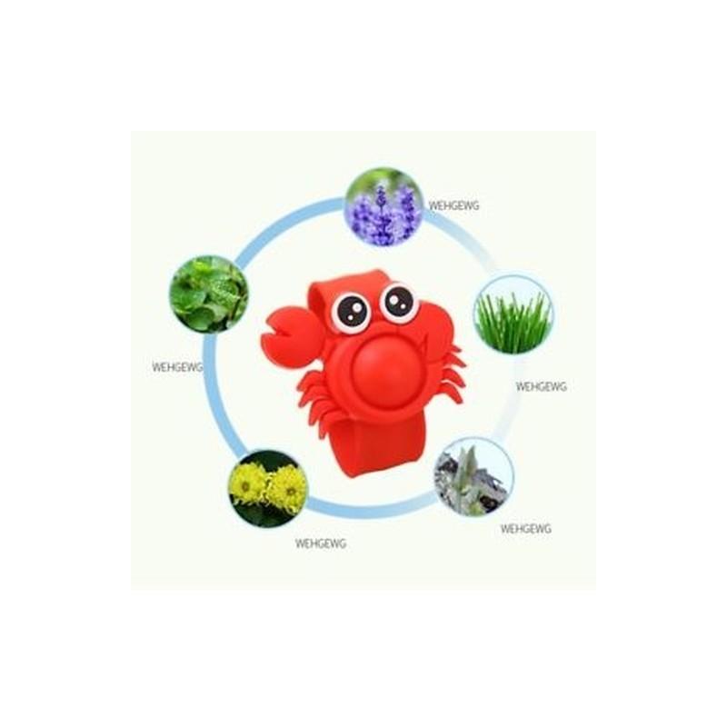 23a70b10fb91 piros - 720Hours használata Anti csuklós szilikon szúnyogriasztó karkötő  Cartoon