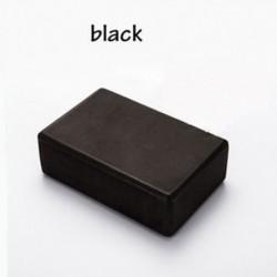 fekete - Kiváló minőségű EVA jóga blokk tégla Sport edzés Edző edzés edzés