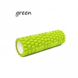 Zöld - Üreges görgős jóga görgő Pilates blokk masszázsgörgő EVA habtani berendezés