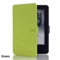 Zöld - Pattern PU bőr Kindle papírfehér tok borítás Amazon Kindle Paperwhite