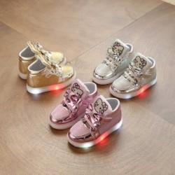 1 pár világítós kislány kisgyermek gyerek gyermek cipő szandál lábbeli
