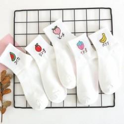1 pár mintás női zokni