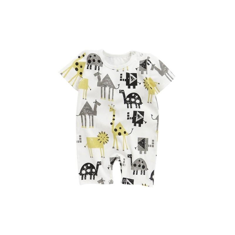 4579e3d36d 1x Kisfiú Baba gyermek kisgyermek csecsemő nyári ruha