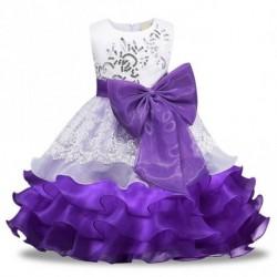 1x Kislány Baba gyermek kisgyermek csecsemő nyári ruha alkalmi ruha esküvői koszorúslány