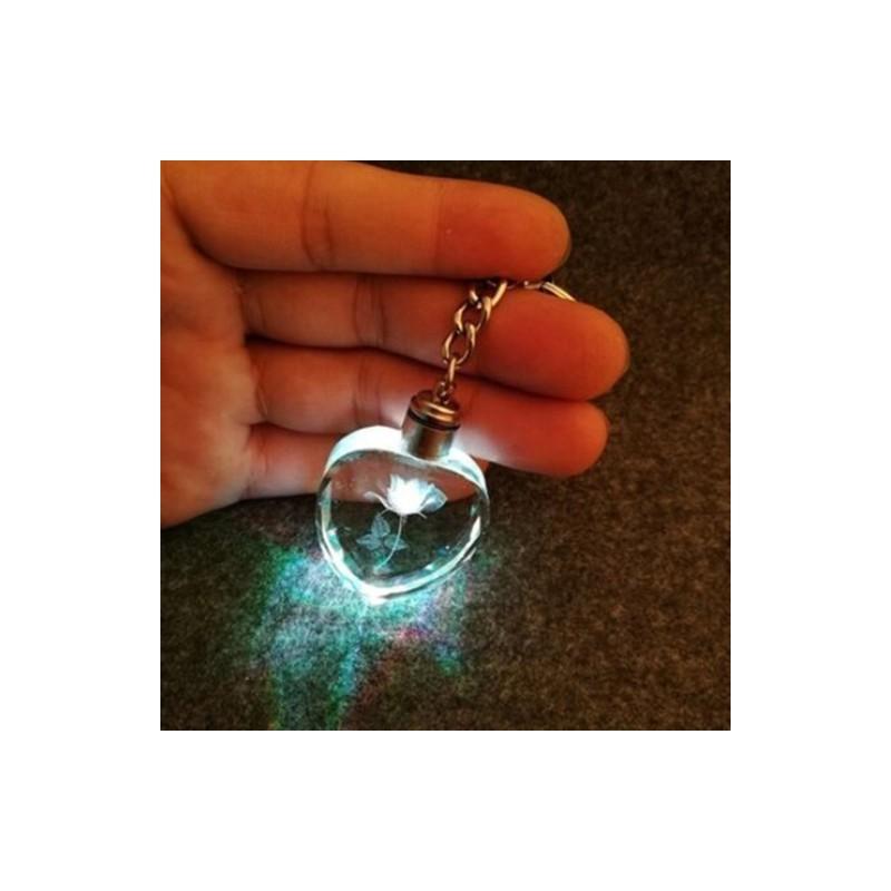 22aadc7c26 1x Szív alakú színes kulcstartó