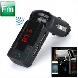 Bluetooth autós vezeték nélküli adóegység beépített mikrofonokkal Bluetooth sztereó flash memória